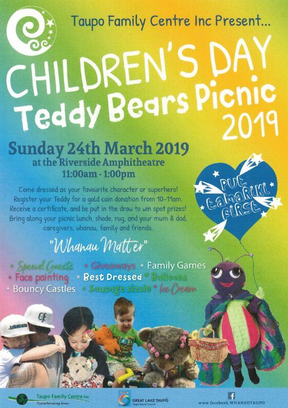 Teddy Bears Picnic 2019 @ Riverside Amphitheatre